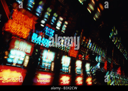 Game rooms in Atlantic City, New Jersey, casino - Stock Photo
