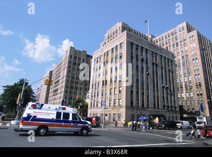 New York Columbia Presbyterian Hospital Medical Center New York City Upper West Side - Stock Photo