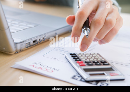 Paying The Bills - Stock Photo