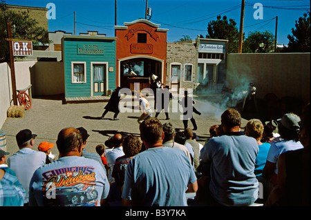 North America, USA, Arizona. Historic western mining town of Tombstone. - Stock Photo