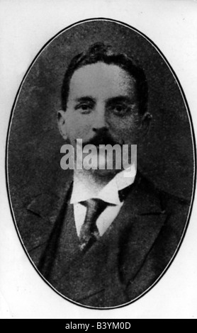 transport / transportation, navigation, Titanic, portrait of Bruce Ismay, director of the White Star Line, survived - Stock Photo