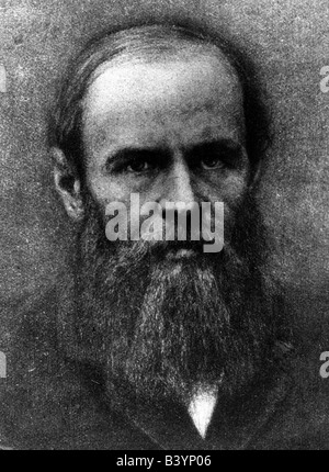 Dostoevsky, Fyodor Mikhailovich, 11.11.1821 - 9.2.1881, Russian writer, novelist, portrait, Additional-Rights-Clearances - Stock Photo