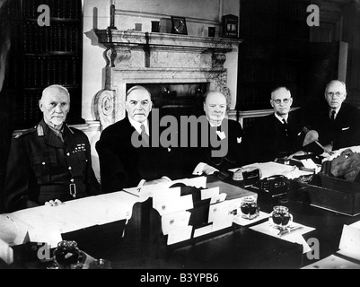 events, Second World War / WWII, conferences, Commonwealth Prime Ministers' Conference, London, May 1944, - Stock Photo