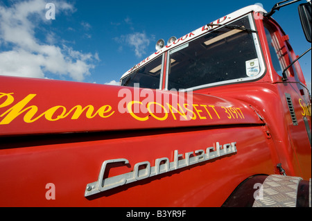 red siddle c cook ltd scammell truck - Stock Photo