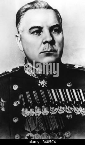 Voroshilov, Kliment, 4.2.1881 - 2.12.1969, Soviet politician (KPSS), statesman and military commander, Marshal of - Stock Photo