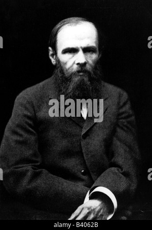 Dostoevsky, Fyodor Mikhailovich, 11.11.1821 - 9.2.1881, Russian writer, novelist, half length, Additional-Rights - Stock Photo