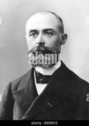 Becquerel, Antoine Henri, 15.12.1852 - 25.8.1908, French physicist, discoverer of radioactivity of Uranium (1896), - Stock Photo