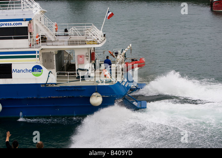 Jersey Channel Islands Ferry Arrivals
