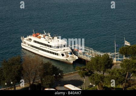 Aboard Cruise Ship In The Mediterranean Sea Air Vents