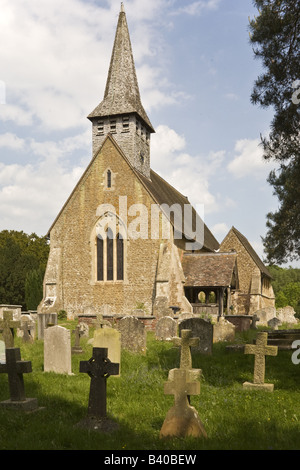 Church of St Peter Hascombe - Stock Photo