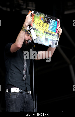 Dan le sac vs scroobius pip - Stock Photo