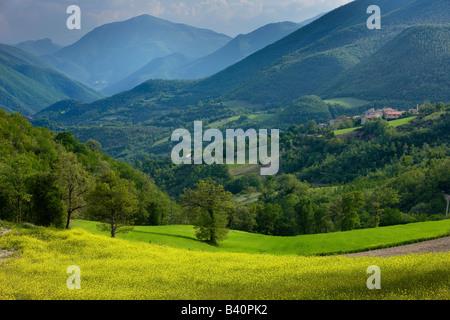 spring in the Valnerina near Meggiano, Umbria, Italy