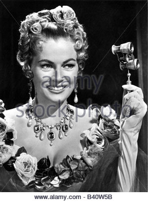 Ekberg, Anita, 29.9.1931 - 11.1.2015, Swedish actress, portrait,  1960s, , Additional-Rights-Clearances-NA - Stock Photo