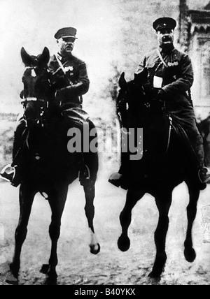 Voroshilov, Kliment, 4.2.1881 - 2.12.1969, Soviet politician (KPSS), statesman and military commander, Marshal of - Stock Photo
