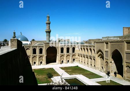 geography / travel, Iraq, Baghdad, buildings, architecture,  Mustansiriya university (Al-Madrasa-Al-Mustansiriya), - Stock Photo