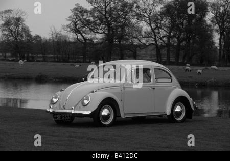 Volkswagen Beetle 1200.  car auto classic retro - Stock Photo
