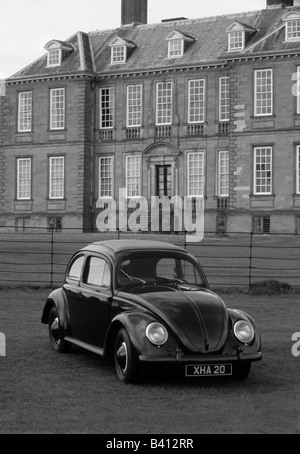 Volkswagen Beetle of 1955. car auto classic trendy - Stock Photo