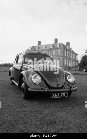 Volkswagen Beetle of 1955. car auto classic - Stock Photo