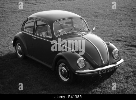 Volkswagen Beetle. car auto classic art abstract - Stock Photo