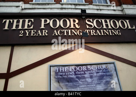 The Poor School drama school in Kings Cross London - Stock Photo