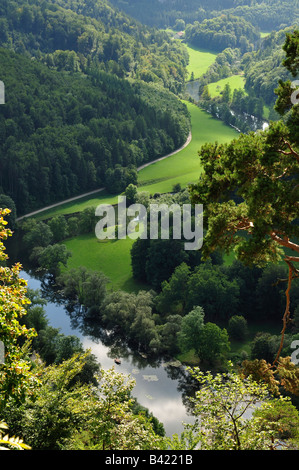 donautal danube valley naturpark natural park obere donau stock photo 19715128 alamy. Black Bedroom Furniture Sets. Home Design Ideas