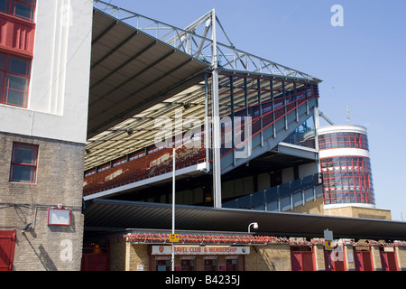 Arsenal Art Deco Highbury Islington Football Stadium North London Stock Photo