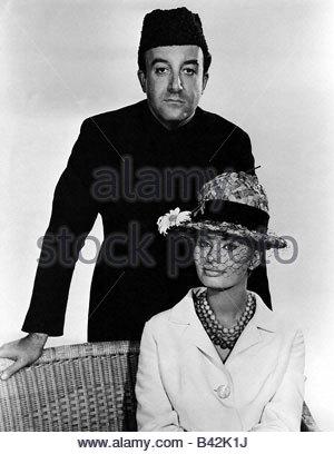 Loren, Sophia, * 20.9.1934, Italian actress, with Peter Sellers, PR photo for movie 'The Millionairess', 1960, , - Stock Photo