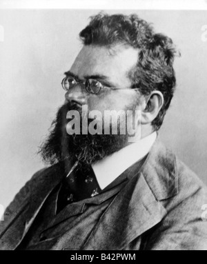 Boltzmann, Ludwig, 20.2.1844 - 5.9.1906, Austrian physicist, portrait, 19th century, Additional-Rights-Clearances - Stock Photo