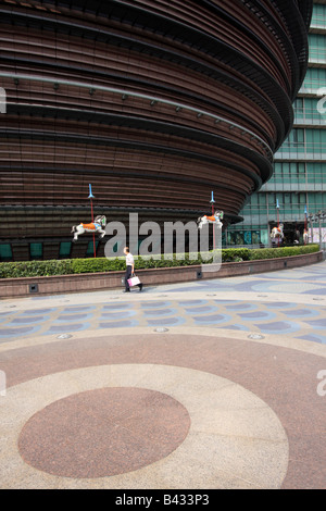 The Core Pacific City shopping mall in Taipei, Taiwan - Stock Photo