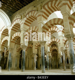 geography / travel, Spain, Cordoba, Mezquita, Mosques, Great Mosque, built approx. 784 century, moorish, architecture, - Stock Photo