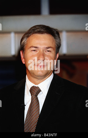 Wowereit, Klaus, * 1.10.1953, German politician (SPD), portrait, 2003, - Stock Photo