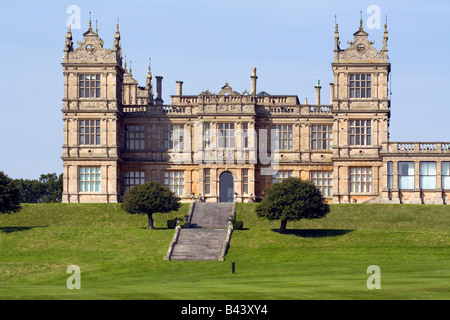 Mentmore Towers Stately Home - Buckinghamshire - Stock Photo