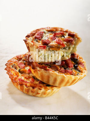 Mussel quiches