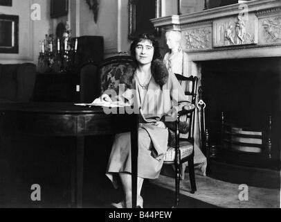 Queen Mother in 1923 - Stock Photo