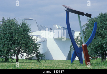 Vitra Design Museum in Weil am Rhein Baden Wurttemberg Germany - Stock Photo