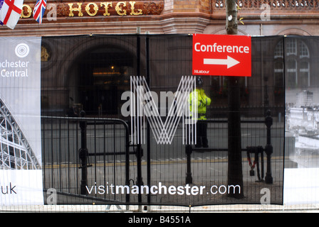 Labour Party Conference Manchester 2008 - Stock Photo