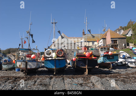 Cadgwith Cove - John Gollop - Stock Photo