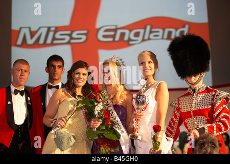 Miss England Final 2008 Laura Coleman - Stock Photo
