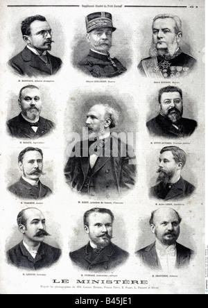 press/media, magazines, 'Le Petit Journal', Paris, 6. volume, number 221, illustrated supplement, Sunday 10 February - Stock Photo