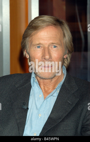 Janson, Horst, * 4.10.1935, German actor, portrait, guest at TV show 'Johannes B. Kerner', Hamburg, 26.4.2005, Additional - Stock Photo