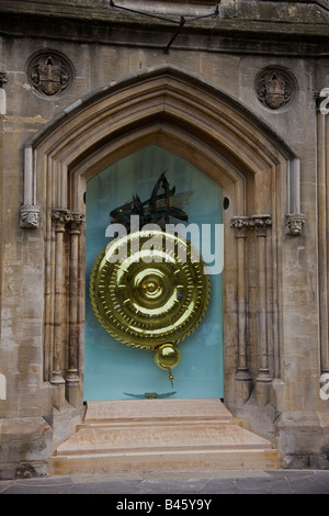 Corpus Clock, showpiece of Corpus Christi's new library - Stock Photo