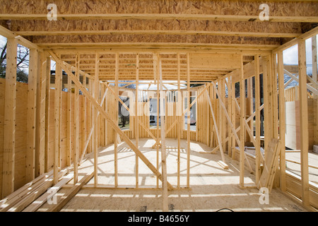 Interior room under construction. - Stock Photo