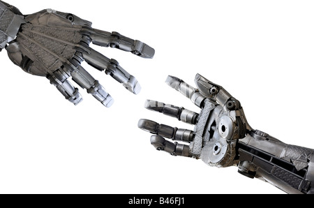Iron hands - Stock Photo