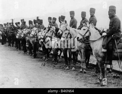 events, First World War / WWI, military, soldiers, Hungarian hussars, circa 1915, Additional-Rights-Clearances-NA - Stock Photo