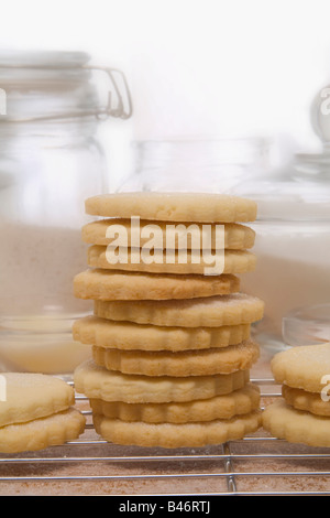 Stack of Cookies - Stock Photo