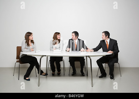People having meeting - Stock Photo