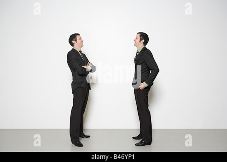 Men having conversation - Stock Photo