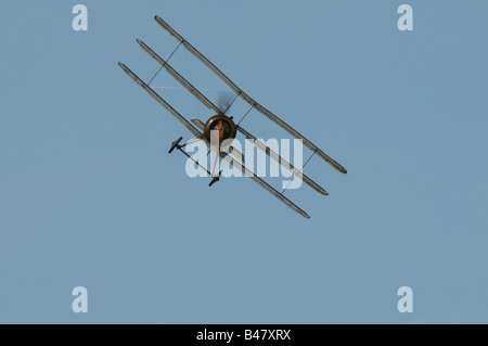 Shuttleworth (Collection) Air Show 2008 WW1 fighter Sopwith Triplane - Stock Photo