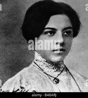 Bartok, Bela 25.3.1881 - 26.9.1945, Hungarian composer, portrait of his sister Elzaval, 1904, Additional-Rights - Stock Photo
