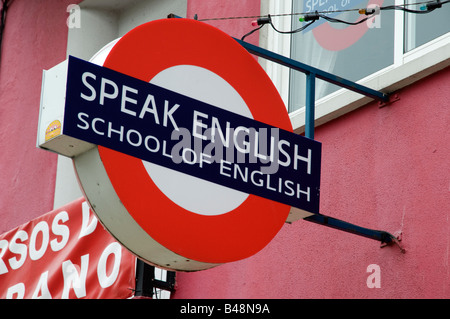 English language school in Spain - Stock Photo